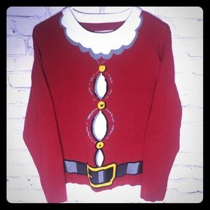 Red Santa Suit Christmas Sweater